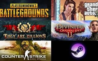 《绝地求生》四十一连冠Steam周销量排行榜