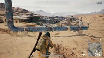 《绝地求生》沙漠地图跑毒攻略 沙漠选点注意事项