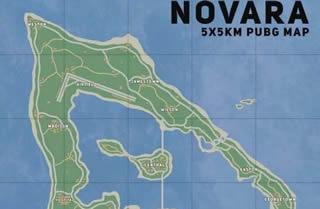 《绝地求生》海战地图曝光 海岛新地图长什么样子