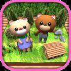 逃脱游戏:森林里的小熊屋 3DM汉化版