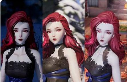 龙族幻想美女捏脸数据 女性捏脸数据
