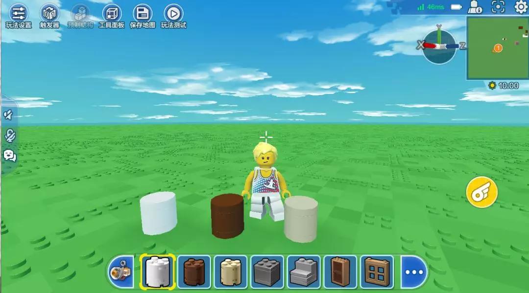 乐高无限巧用圆柱积木块 圆柱积木块使用方法