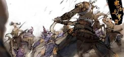 部落与弯刀神兽部队位置