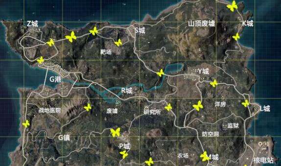和平精英滑翔机在哪里