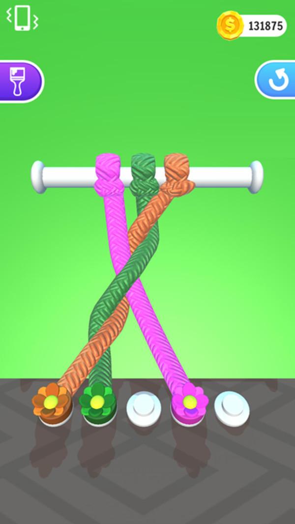 抖音百变绳结3D